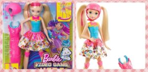 Muñeca Patinadora Barbie Superheroína